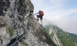 Eric Arnoux, marcheur et amoureux de la montagne